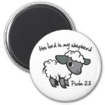 The Lord is my Shepherd 2 Inch Round Magnet