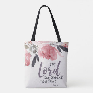 The Lord Is My Shepherd All Over Print Bag