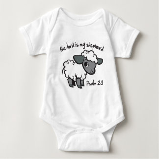 The Lord is my Shepherd Baby Bodysuit