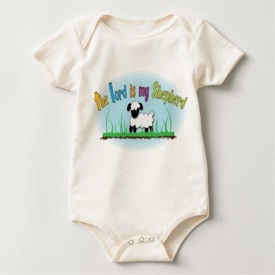The Lord is my Shepherd baby vest Baby Bodysuit