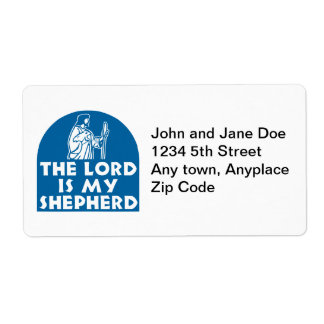 The Lord is my Shepherd Blue Label