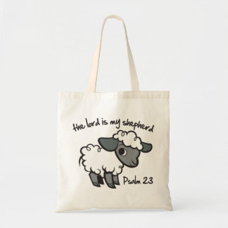 The Lord is my Shepherd Budget Tote Bag