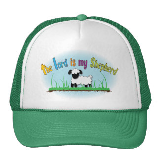 The Lord is my Shepherd hat