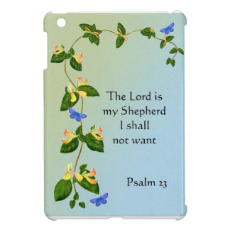 The Lord is my Shepherd I shall not want Psalm 23 Case For The iPad Mini
