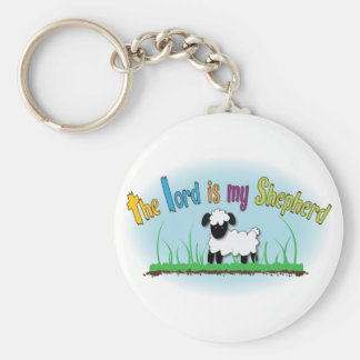 The Lord is my Shepherd keychain