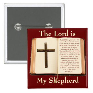 The LORD is My Shepherd Pinback Button