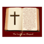 The LORD is my shepherd Post Card