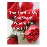 The Lord is My Shepherd Postcard