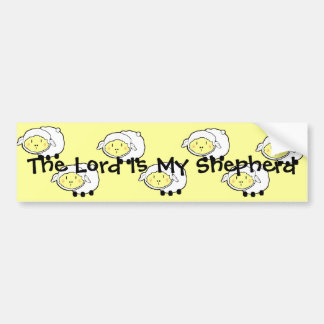 The LORD is my shepherd Psalm 23 Infant t-shirt- U Bumper Sticker