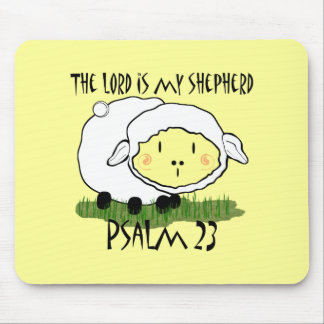 The LORD is my shepherd Psalm 23 Infant t-shirt- U Mouse Pad