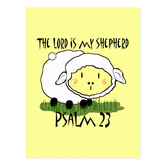 The LORD is my shepherd Psalm 23 Infant t-shirt- U Postcard