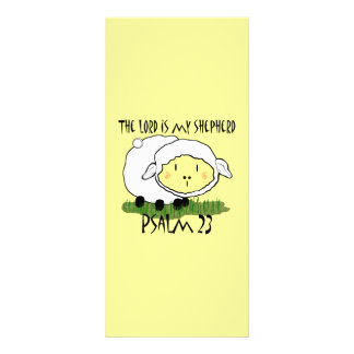 The LORD is my shepherd Psalm 23 Infant t-shirt- U Rack Card