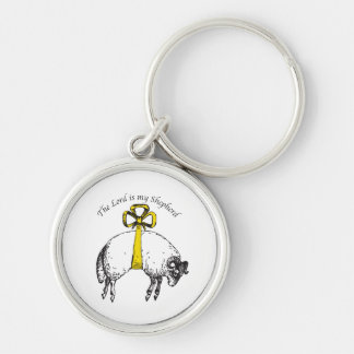 The LORD is my shepherd Psalm 23 Keychain