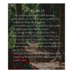 The Lord is my shepherd, Psalm 23 Poster