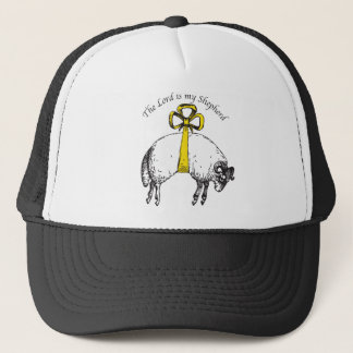 The LORD is my shepherd Psalm 23 Trucker Hat