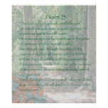 The Lord is my shepherd, Psalm 23, Version B Poster