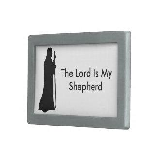 The Lord Is My Shepherd Rectangular Belt Buckle