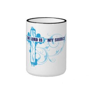 The Lord Is My Source Mug