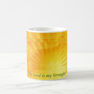The Lord Is My Strenght Coffee Mug