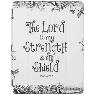 The Lord is my Strength Bible Verse iPad Cover