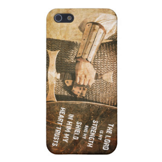"""The lord is my Strength"" cubiertas iPhone Bible v iPhone 5 Carcasa"