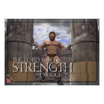 The Lord is My Strength Posters