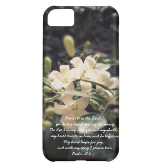 The Lord is my Strength & Shield - Jasmine iPhone iPhone 5C Cases