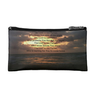 the lord is our father bag cosmetic bags
