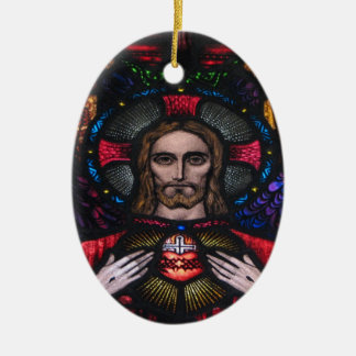 The Lord Jesus Christ Ceramic Ornament