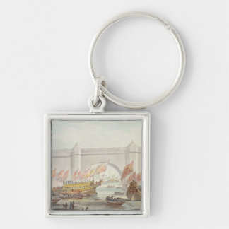 The Lord Mayor landing at Westminster Key Chain