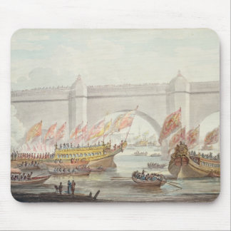 The Lord Mayor landing at Westminster Mouse Pad