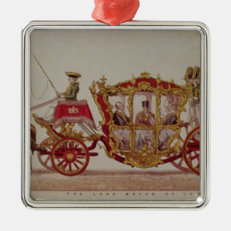 The Lord Mayor of London, 1853 Metal Ornament