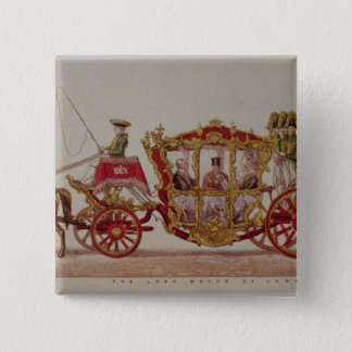 The Lord Mayor of London, 1853 Pinback Button