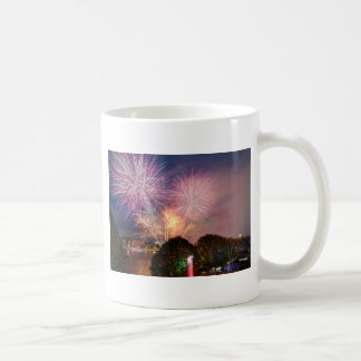 The Lord Mayor's Fireworks, Southbank London Coffee Mug