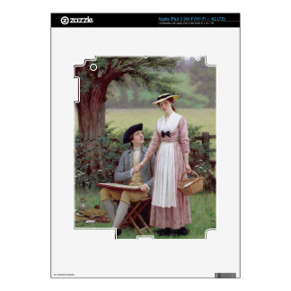 The Lord of Burleigh, Tennyson, 1919 (oil on canva Skins For iPad 3