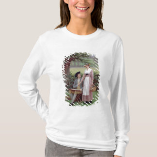 The Lord of Burleigh, Tennyson, 1919 (oil on canva T-Shirt