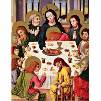 The Lord S Supper By Meister Des Hausbuches Best Photo Cut Out