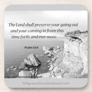 The Lord shall preserve your going out Coaster