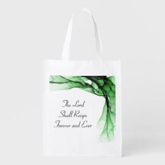 The Lord Shall Reign Forever And Ever Reusable Bag Reusable Grocery Bag