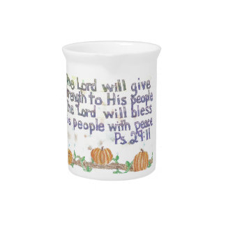 The Lord will Bless Pitcher