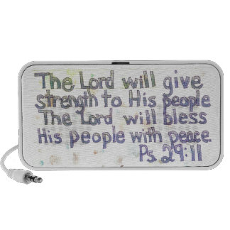 The Lord will Bless iPhone Speakers