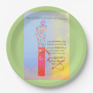 The LORDs Arrow Of Victory Paper Plate
