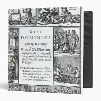 The Lord's Day, 1639 3 Ring Binder