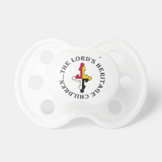 The Lord's Heritage Children Pacifier