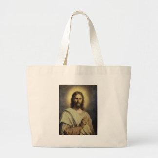 The Lord's Image - Heinrich Hofmann Large Tote Bag