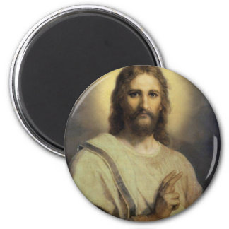 The Lord's Image - Heinrich Hofmann Magnet