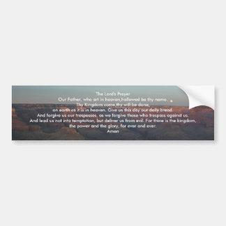 The Lord's Prayer Bumper Sticker