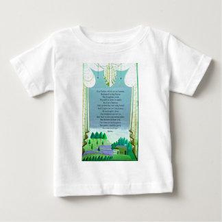 The Lord's Prayer Christian themed art Baby T-Shirt