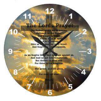 The Lords Prayer Clock