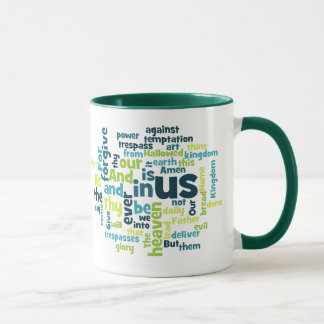 The Lord's Prayer Cloud Mug